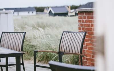 Gør din terrasse sommerklar med nogle enkle tips