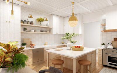 Giv dit køkken nyt udseende med disse 3 tips
